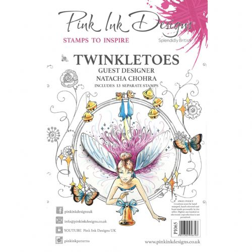 Pink Ink Designs - Twinkletoes A5 Clear Stamp